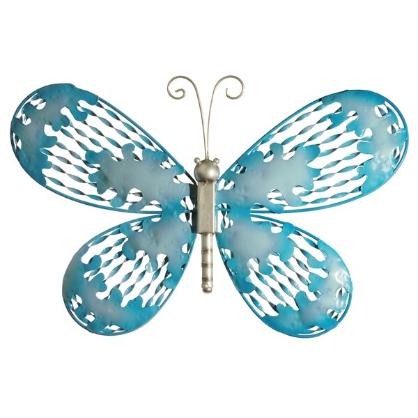 "18"" Blue Butterfly Wall Decoration"