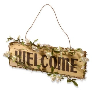 "21"" ""Welcome"" Door Sign"