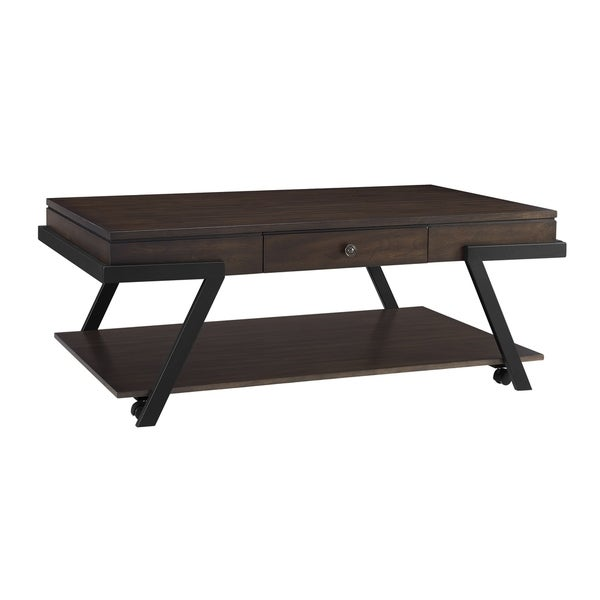 Shop Amity Modern Coffee Table With Casters By Greyson