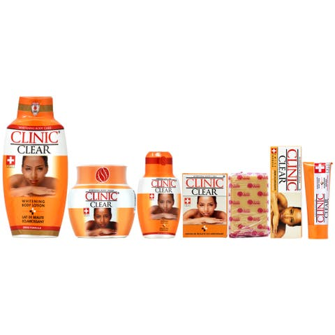 Skin whitening products : Clinic Clear Whitening 5-piece Set