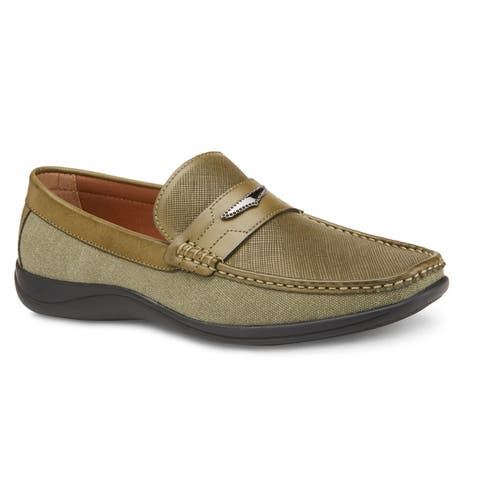 4deafb9d677b2 Buy Green Men's Loafers Online at Overstock | Our Best Men's Shoes Deals