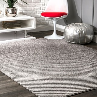 Strick & Bolton Lopardo Urban Striped Area Rug
