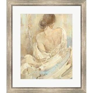 Albena Hristova 'Abstract Figure Study I' Framed Art