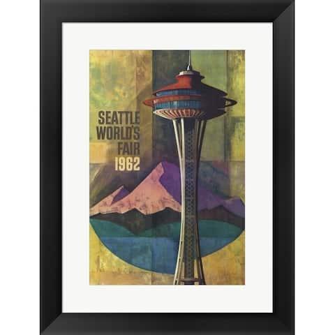 Lantern Press 'Seattle World's Fair 1962 II' Framed Art