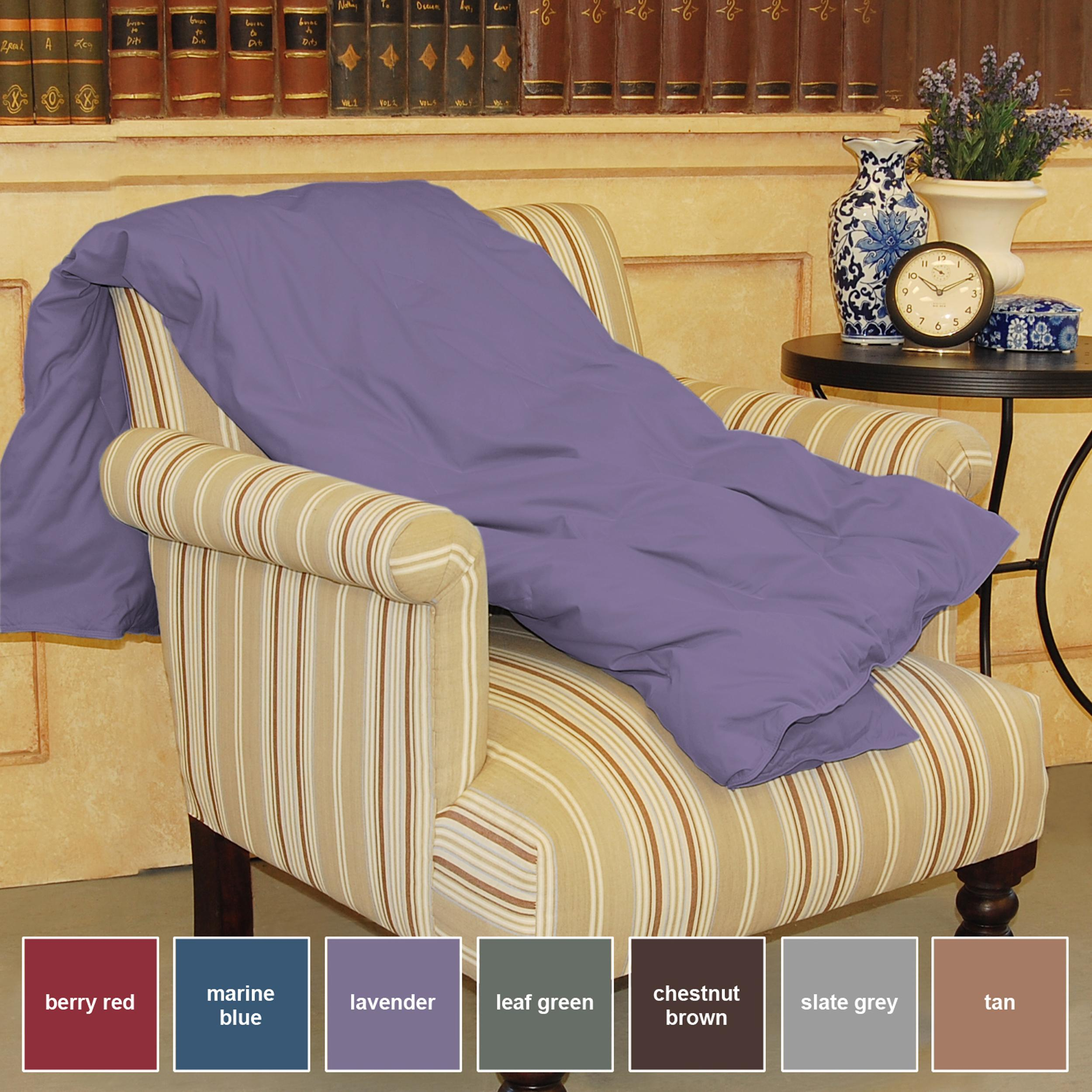 Luxury Satin Corded Down Throw Free Shipping Orders Over $45