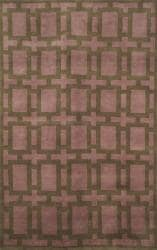 Tile Mauve Brown Rug 5 X 8 Free Shipping Today