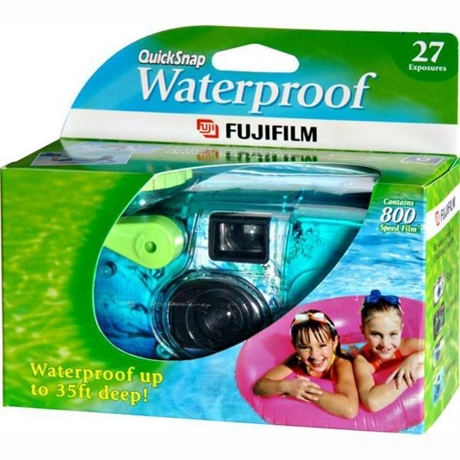Fuji QuickSnap Waterproof 35mm Camera