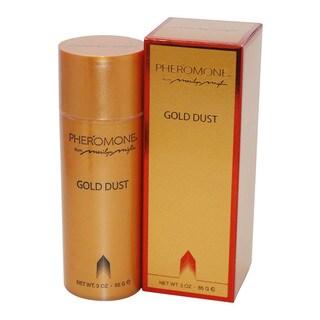 Phermone Gold Dust Powder Women's 3-ounce Perfume