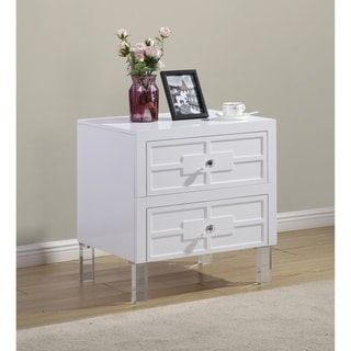Best Quality Furniture Lacquer 2-drawer End Table