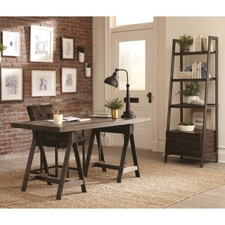 Rustic Industrial Design Adjustable Desk Home Office Collection