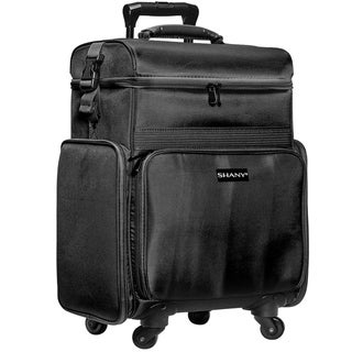 Link to SHANY Soft Rolling Makeup Trolley Case - Multiple Compartments Similar Items in Makeup Brushes & Cases