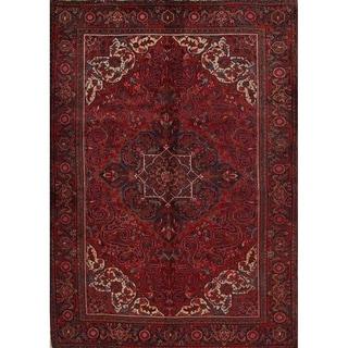"Heriz Geometric Hand Knotted Wool Persian Area Rug - 9'3"" x 6'8"""