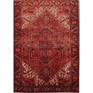 "Heriz Geometric Hand Knotted Wool Persian Area Rug - 12'6"" x 10'2"""