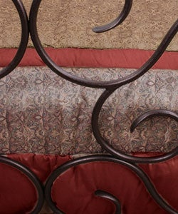 Rosette Full-size Bed - Thumbnail 1