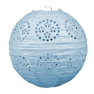 "Link to Beistle 8"" General Occasion Hanging Lace Paper Lanterns, Blue - 6 Pack (3/Pkg) Similar Items in Accent Pieces"