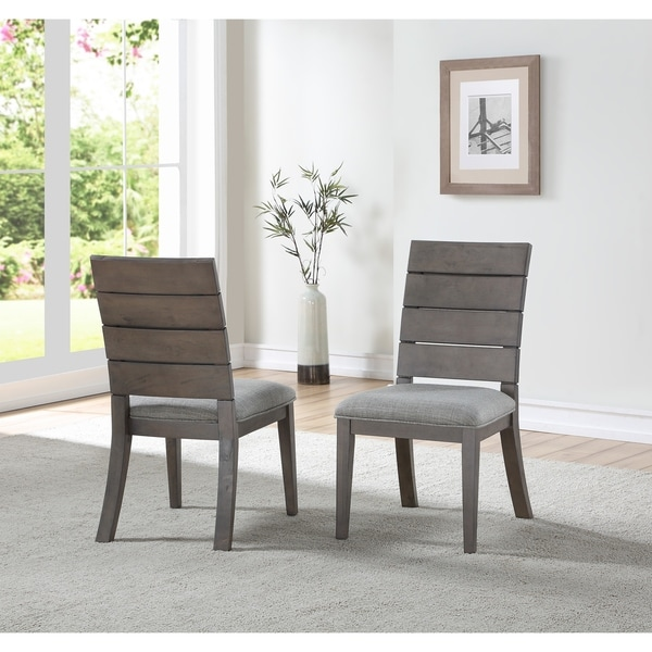 Edina Ladder Back Dining Chair by Greyson Living (Set of 2)