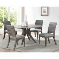 The Gray Barn Abernathy Modern Round Dining Set