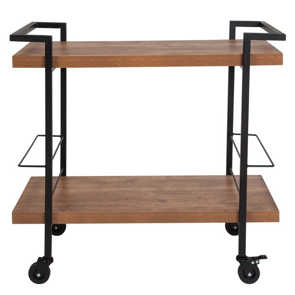 Wood Kitchen Bar Cart