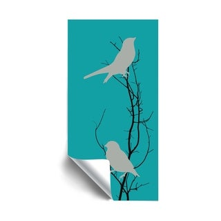 Link to A Bird in Hand Teal Removable Wall Art Mural Similar Items in Vinyl Wall Art