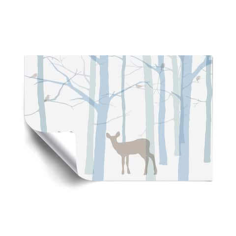 Forest Friends Removable Wall Art Mural