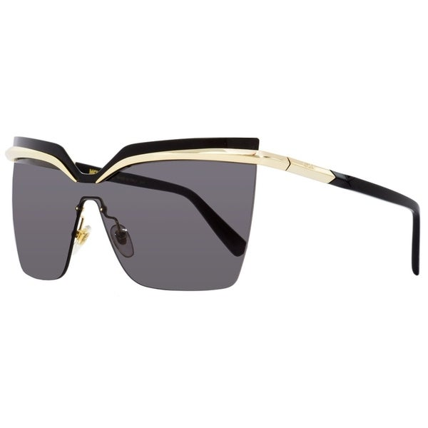 22c7acb10a Shop MCM MCM106S 717 Womens Gold Black 65 mm Sunglasses - Free Shipping  Today - Overstock - 27031794