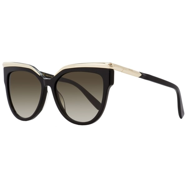 4e9606b58bf9 Shop MCM MCM637S 001 Womens Black/Gold 56 mm Sunglasses - Free Shipping  Today - Overstock - 27031849