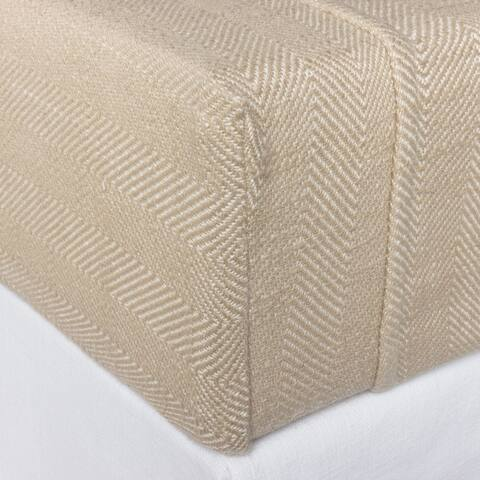 Cottage Home Luke Cotton Box Spring Cover