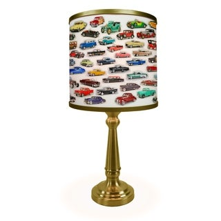 Classic Car Collage More Than A Lamp Framed Art Comes Down From the Wall