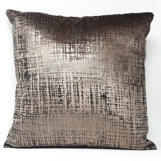 Princess Pillow Brown and Silver Decorative Throw Pillow