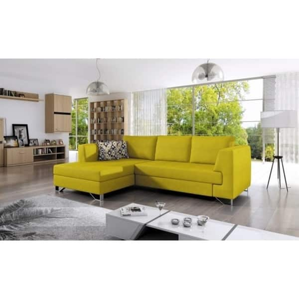 Amazing Shop Mario Mini Sleeper Sectional Free Shipping Today Pdpeps Interior Chair Design Pdpepsorg