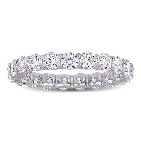 Eternally Yours 2 1/5ct TW Lab Grown Diamond Full-Eternity Ring in 14k White Gold