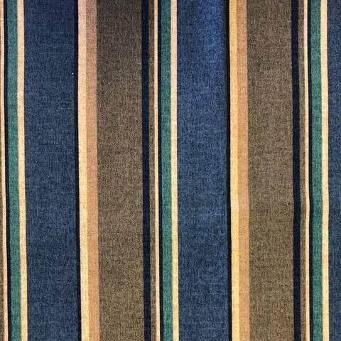 Blazing Needles Indoor/Outdoor Footstool Cushion
