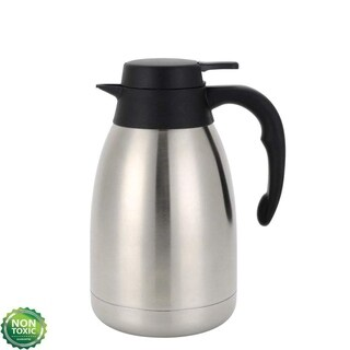 51 Ounce Double Wall Vacuum Thermos Insulated Stainless Steel Carafe