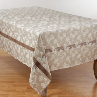Link to Cotton Tablecloth with Rooster Design Similar Items in Table Linens & Decor