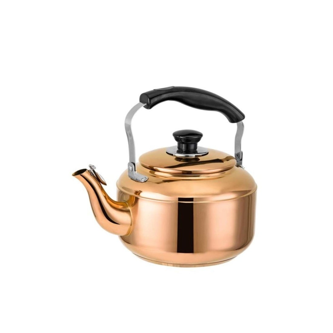 Old Dutch DuraCopper Stainless steel Whistling Stove top Teapot Kettle in Copper