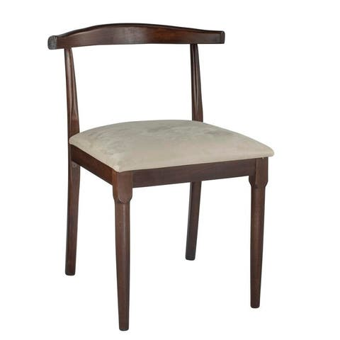 Retro Dining Chair Solid Wood