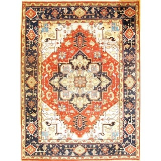 Pasargad DC Serapi Rug Hand-Knotted - 9' x 12'