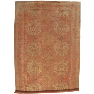 """Pasargad DC Antique Turkish Oushak Hand-Knotted - 14'8"""" X 26'3"""""""