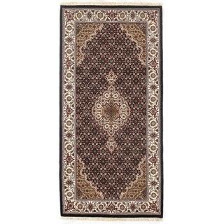 "Pasargad DC Fine Tabriz Mahi Design Silk & Wool - 2'5"" X 4'11"""