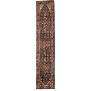 "Pasargad DC Fine Tabriz Mahi Design Silk & Wool - 2'6"" X 12'2"""