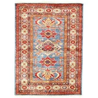 "Pasargad DC Genuine Super Kazak Lamb's Wool - 3'4"" X 4'7"""
