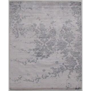 "Pasargad DC Modern Pure Bamboo Silk - 8'2"" X 10'1"""