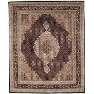 "Pasargad DC Fine Tabriz Mahi Design Silk & Wool - 8'2"" X 9'11"""