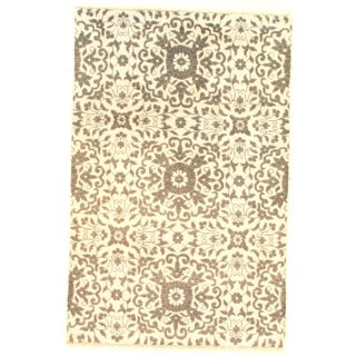 "Pasargad DC Modern Bamboo Silk Hand-Knotted - 3'11"" X 5'11"""