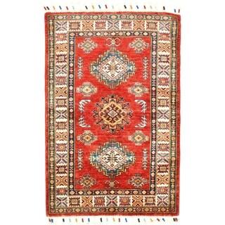 "Pasargad DC Genuine Super Kazak Lamb's Wool - 2'8"" X 4'"