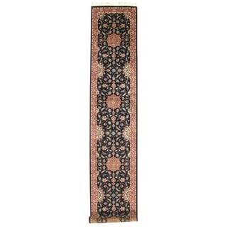 "Pasargad DC Pak Persian Tabriz Design Hand-Knotted - 2'7"" X 14'"