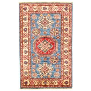 "Pasargad DC Genuine Super Kazak Lamb's Wool - 2'11"" X 4'9"""