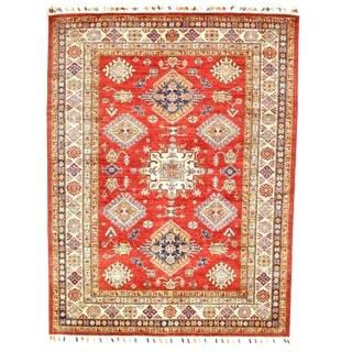 "Pasargad DC Genuine Super Kazak Lamb's Wool - 5'1"" X 6'8"""