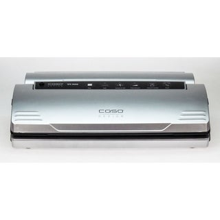 Caso Design VC 300 Food Vacuum Sealer All-in-One System with Food Management App plus Set of Food Vacuum Bags and Rolls