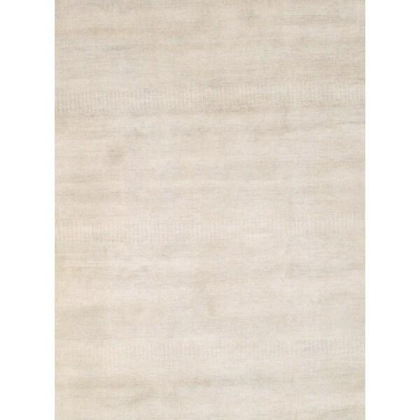 "Pasargad DC Modern Grass Hand-Knotted - 8′ X 9'10"""